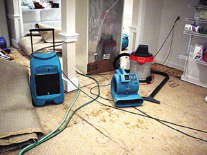 WET CARPET WATER EXTRACTION SERVICE